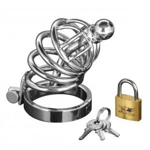 Asylum | 4 Ring Locking Chastity Cage