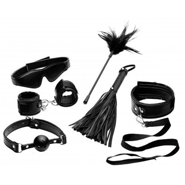 Tame Me 8 Piece Beginner Bondage Set