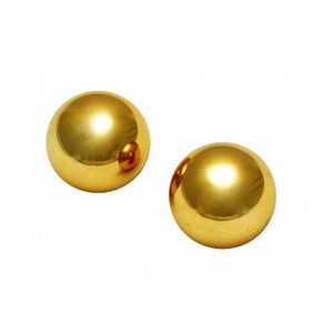 "Sir's Gold Plated 1"" Kegel Balls"