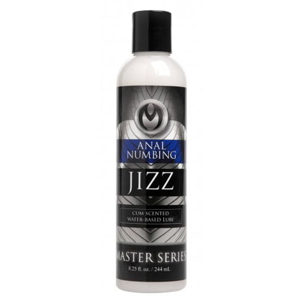 Jizz Cum Scented Desensitizing Lube - 8.5Oz.