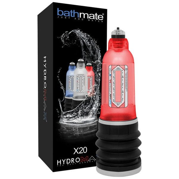 Bathmate Hydromax X20 Penis Pump Red
