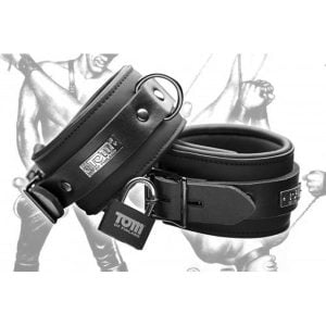 Neoprene ankle cuffs w/ locks
