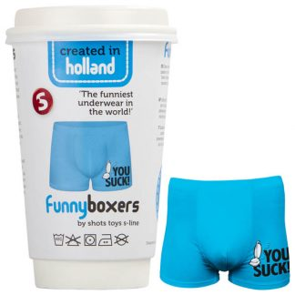 S-Line Funny Boxers You Suck