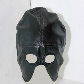 Axe Man Half Mask Leather