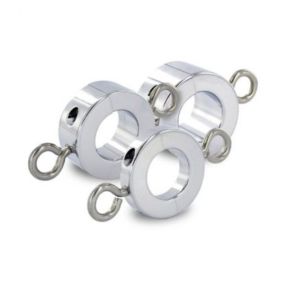 Ball Stretcher with Attached Weight Rings in Large Size