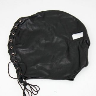 Open Eyed BDSM Hood Leather