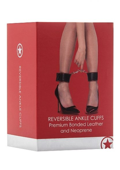 Ouch Reversible Ankle Cuffs Red